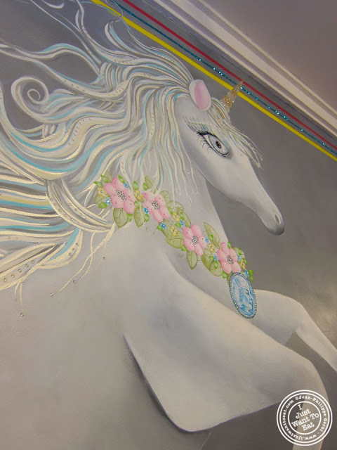 image of unicorn at The Big Gay Ice Cream Shop in the East Village, NYC, New York