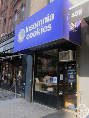 image of Insomnia cookies on the Upper West Side, NYC, New York