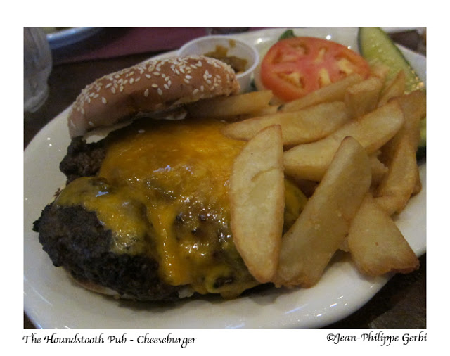Image of Cheese burger at The Houndstooth Pub in NYC, New York