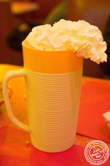 Image of Mexican hot chocolate at Hotel Tortuga in NYC, New York