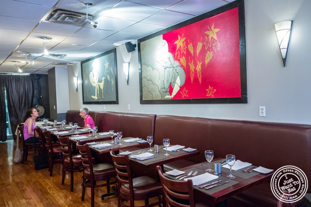 dining room at Paname, French restaurant in New York, NY