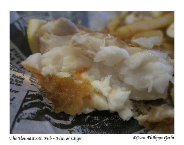 Image of Fish and Chips at The Houndstooth Pub in NYC, New York