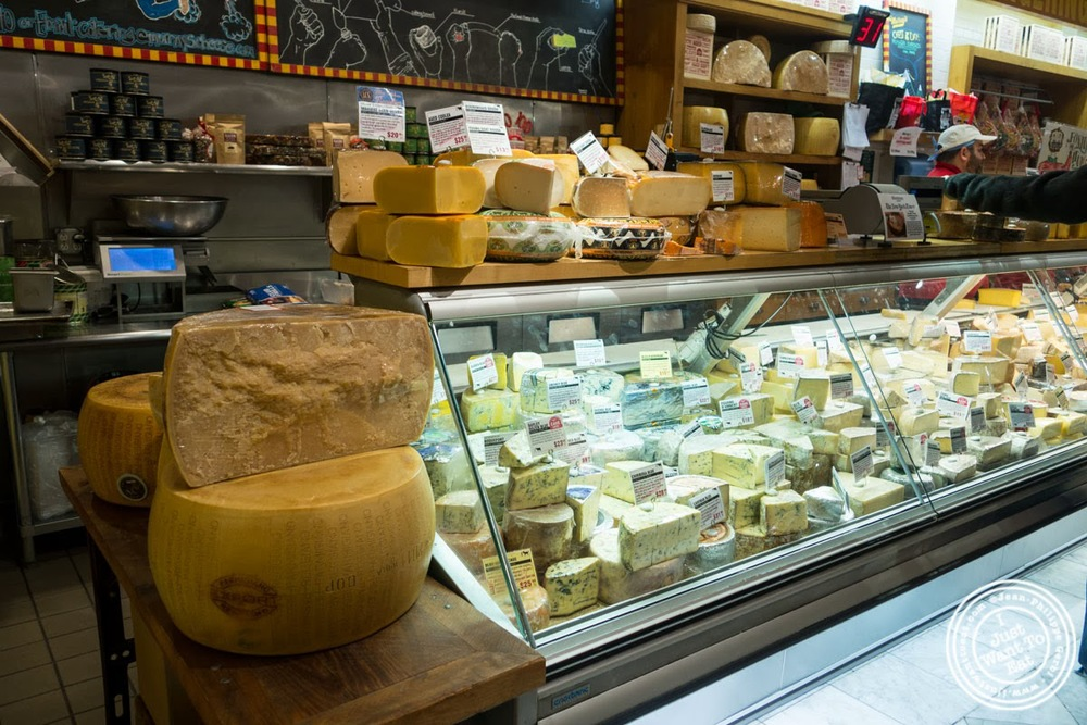 image of Murray's Cheese in the West Village, NYC, New York