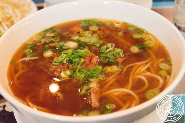Pho Bun Bo Hue at Pho 66 in NYC, New York