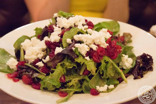 image of cranberry bog salad at Little Town NJ in Hoboken, NJ