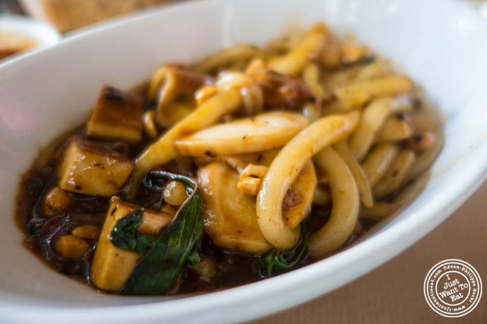 image of wok charred pearl noodles at Spice Market in the Meatpacking District, NYC, New York