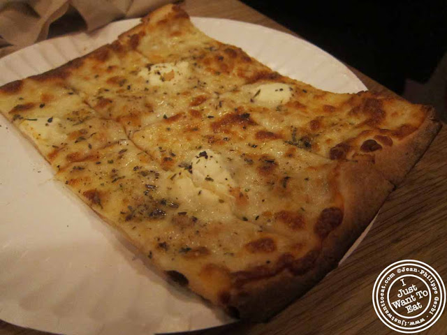 Image of White pie at Pie By The Pound in NYC, New York