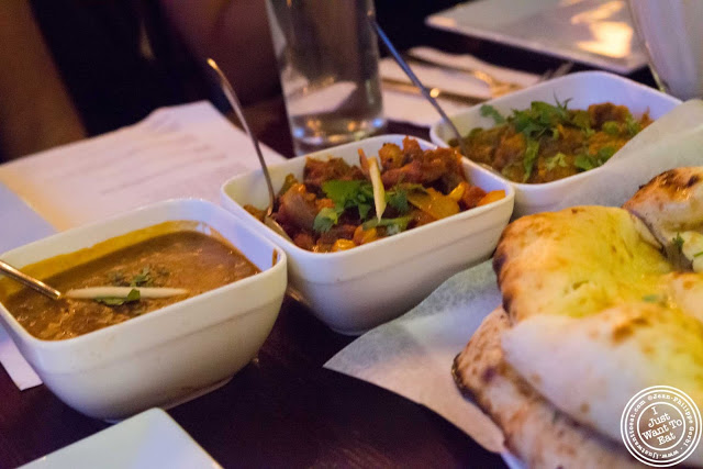 image of Indian dishes at The Masala Wala in NYC, New York
