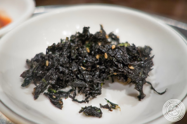 image of seaweed at Don's Bogam in Murray Hill, NYC, New York