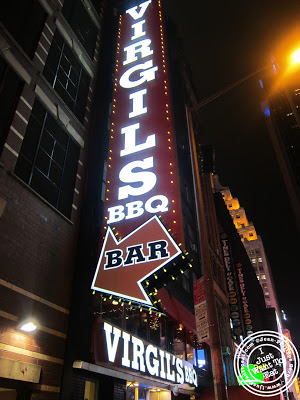 Image of Virgil's Real BBQ Restaurant in Times Square, NYC, New York