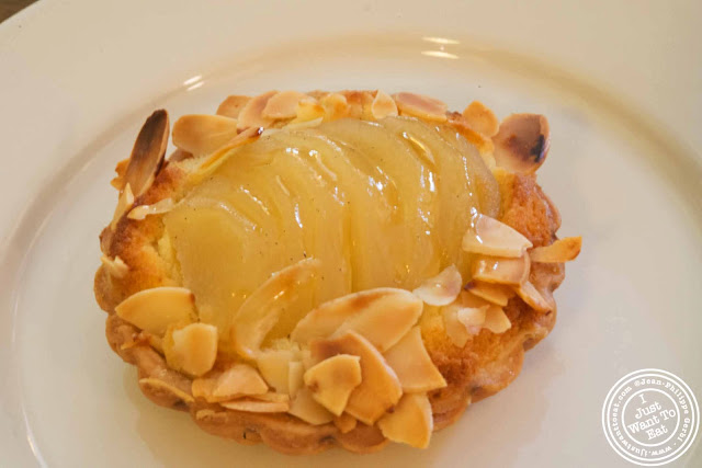 Image of Pear and almond tart at Joyce Bakeshop in Brooklyn, New York