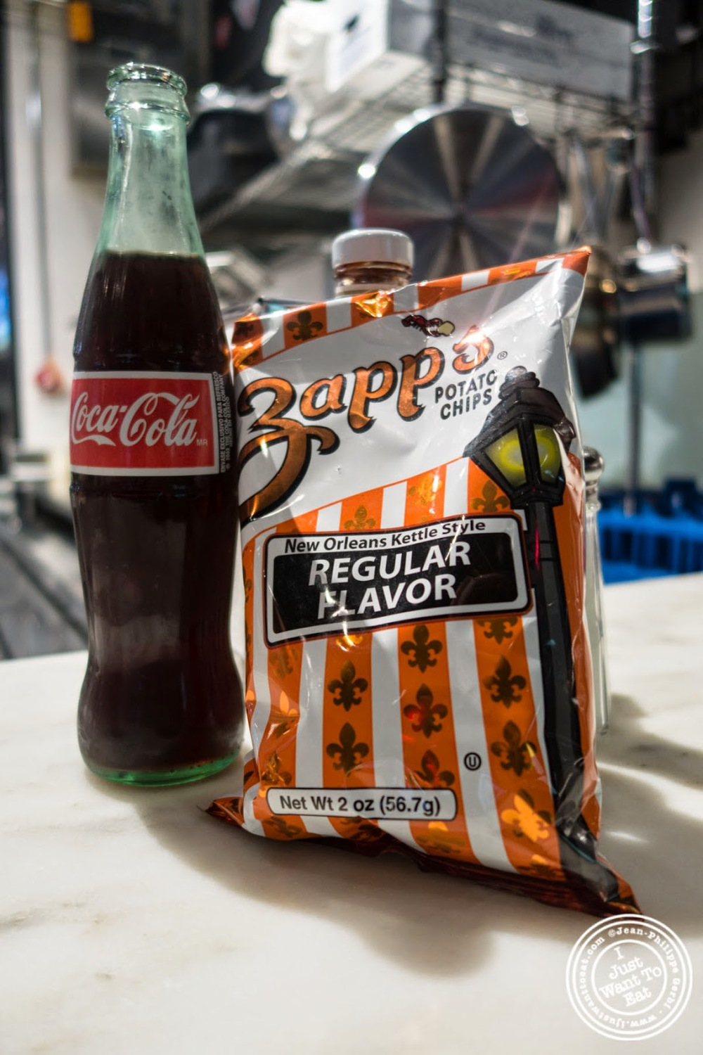 image of coca cola and chips at Court Street Grocers at The Gotham West Market