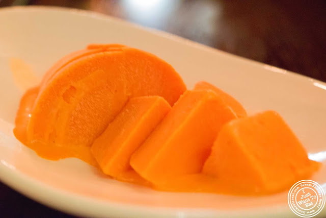 image of mango kulfi at The Masala Wala in NYC, New York