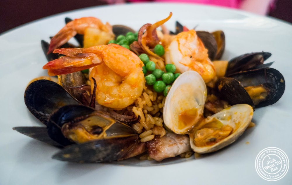 Paella Valenciana at Paname, French restaurant in New York, NY