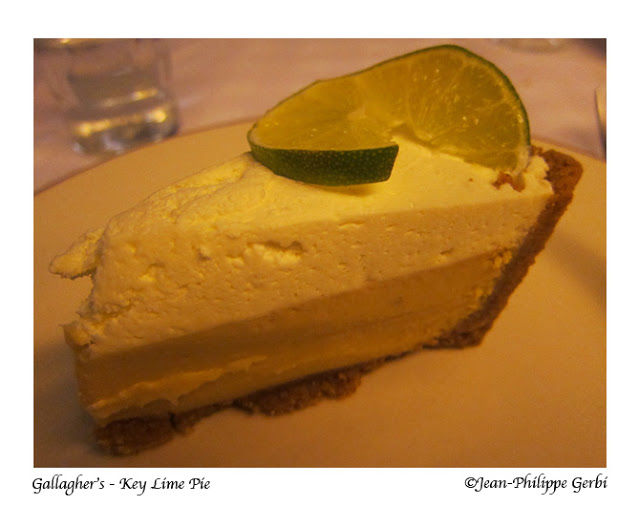 Image of Key lime pie at Gallagher's Steakhouse in NYC, New York