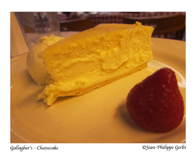 Image of Cheesecake at Gallagher's Steakhouse in NYC, New York