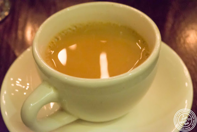 image of chai tea at The Masala Wala in NYC, New York