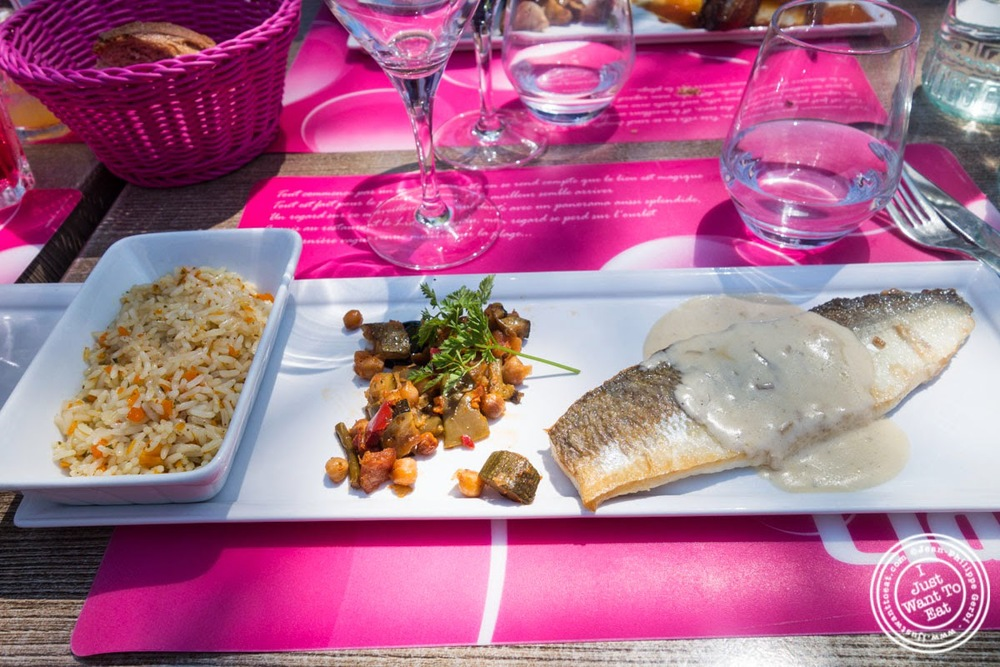 image of filet of livaret at Le Lido Plage in Aix-Les-Bains, France