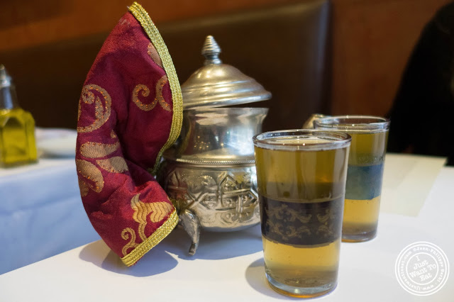 image of mint tea at Barbès in Murray Hill, NYC, New York