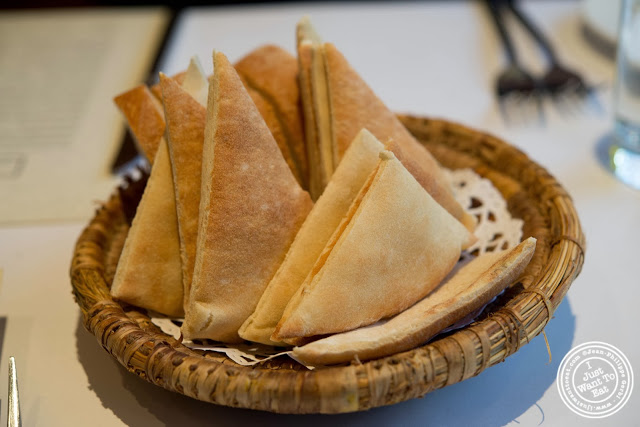 image of pita at Barbès in Murray Hill, NYC, New York