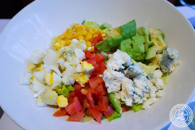 image of cobb salad at Barbès in Murray Hill, NYC, New York
