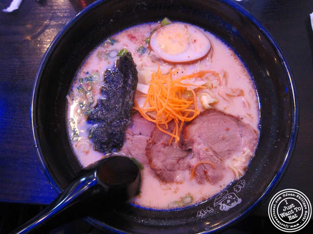 Image of Ajisen ramen with pork at Ajisen Ramen in Chelsea, NYC, New York