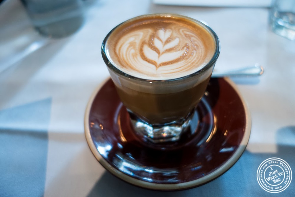 image of cortado coffee at Maialino in NYC, New York