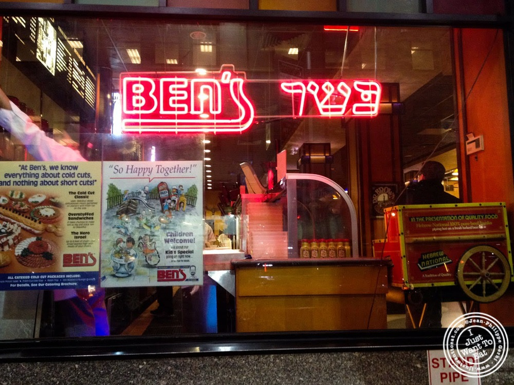 image of Ben's Kosher Delicatessen in NYC, New York