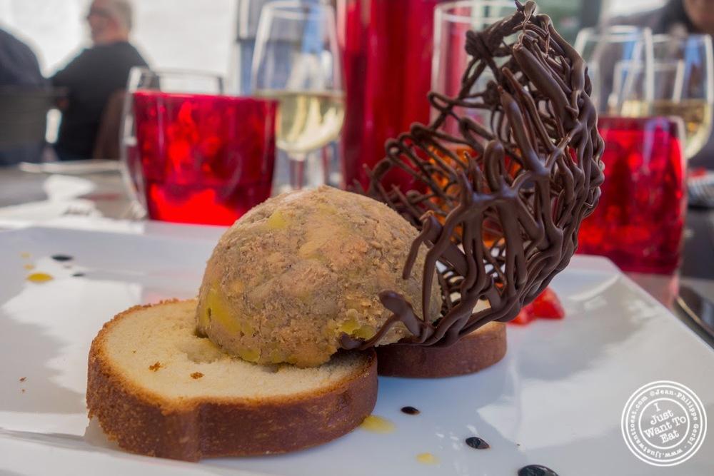 image of foie gras at Les Jardins de Sainte-Cécile in Grenoble, France