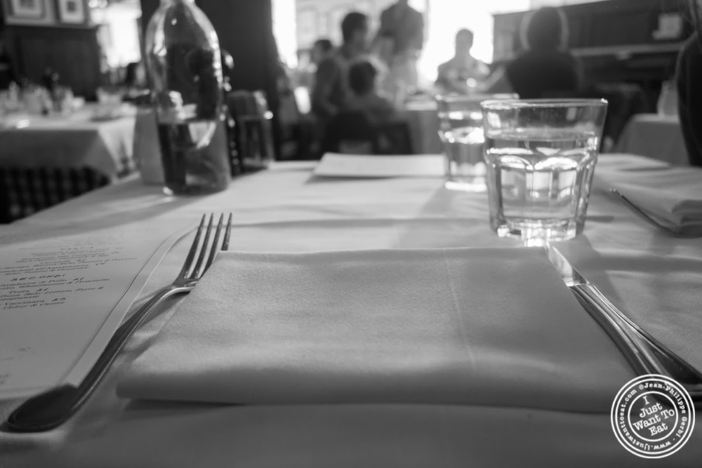 image of table at Maialino in NYC, New York