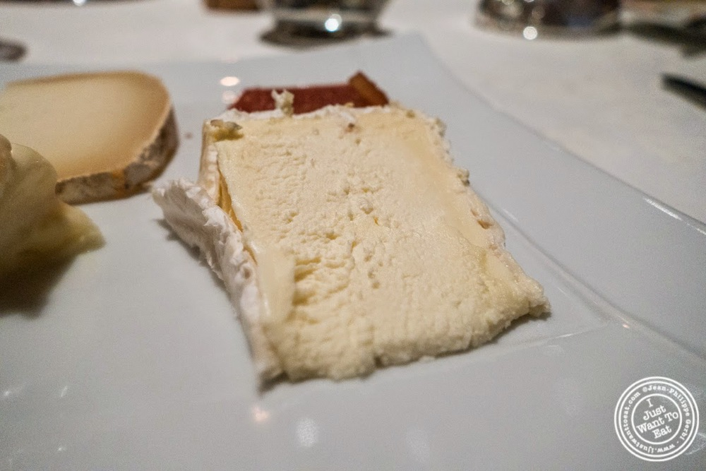 image of Brillat Savarin cheese at Le Rempart in Tournus, France