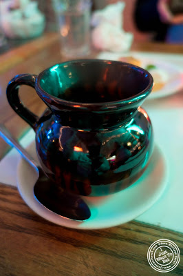 image of Mexican coffee at El Maguey Y La Tuna on the Lower East Side, NYC, New York