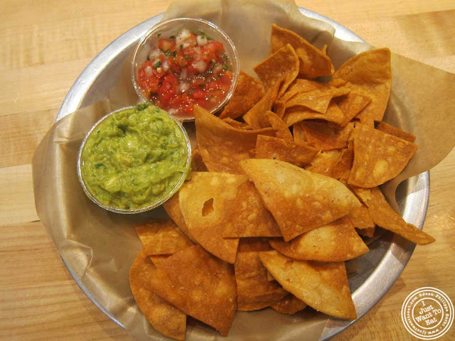 Image of Guacamole, chips and salsa at Dorado, Tacos and Quesadillas in NYC, New York