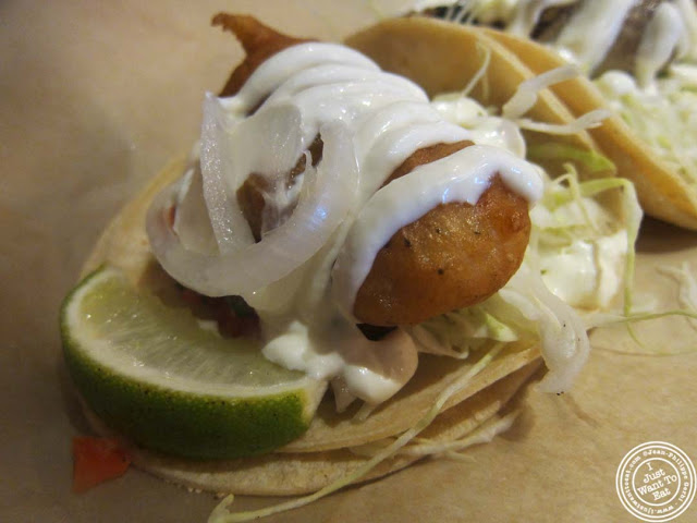 image of baja taco at Dorado, Tacos and Quesadillas in NYC, New York