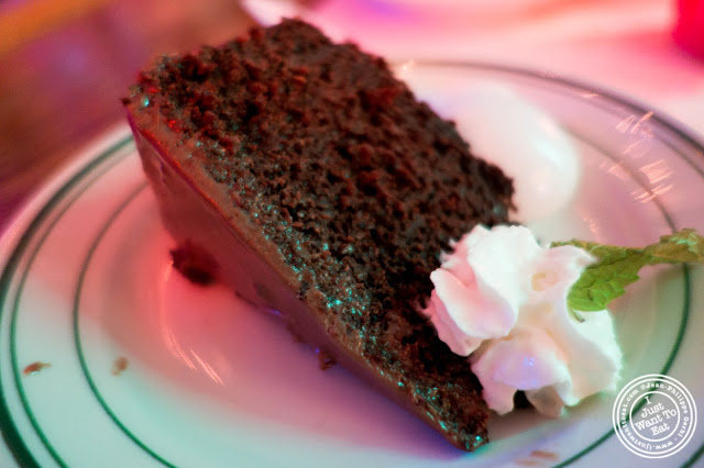 image of Mexican chocolate cake at El Maguey Y La Tuna on the Lower East Side, NYC, New York