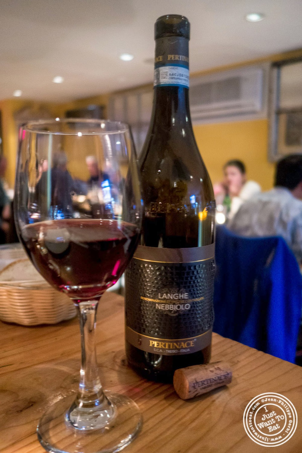 "image of Langhe Nebbiolo 2011 ""Elvio Pertinace"" at Da Marcella Taverna in Greenwich Village, NYC, New York"