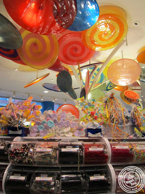 Image of Candies by the pound at Dylan's Candy Bar in NYC, New York