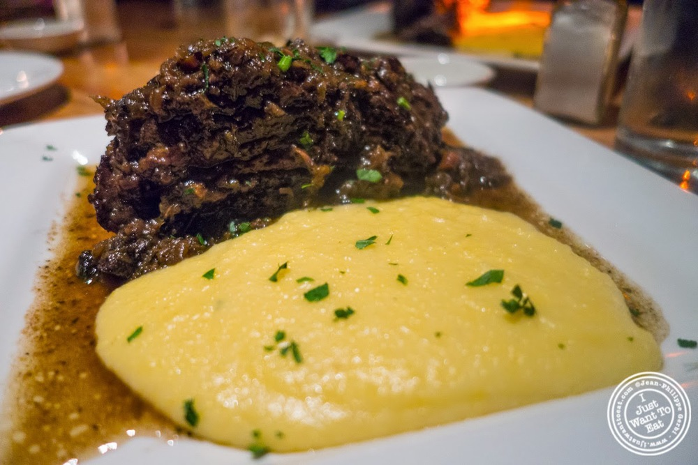 image of beef short ribs at Da Marcella Taverna in Greenwich Village, NYC, New York