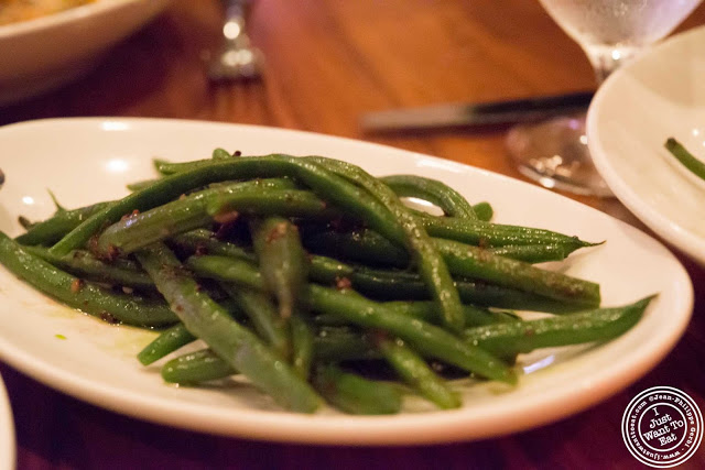 image of green beans at Tom Colicchio Craftbar in NYC, New York