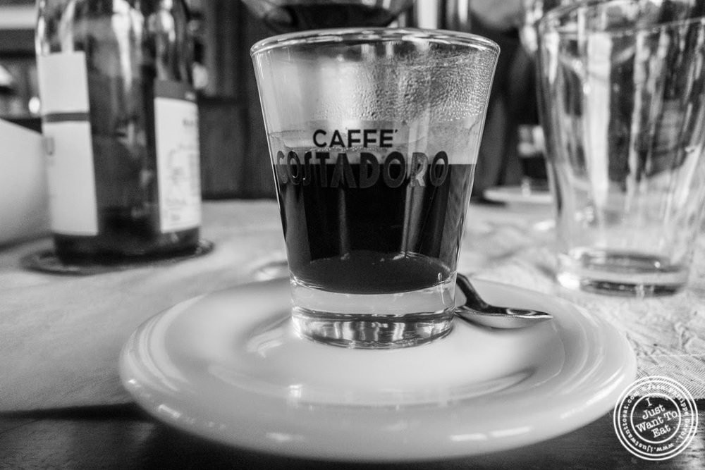 image of espresso at L'Eden in Coublevie, France