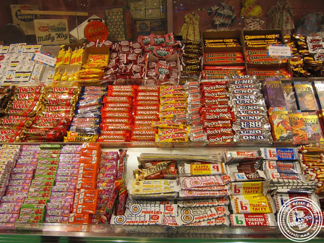 Old Fashioned candies at Dylan's Candy Bar in NYC, New York