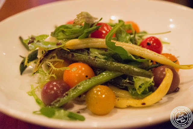 image of green market salad at Tom Colicchio Craftbar in NYC, New York