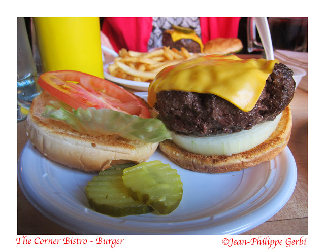 Image of Cheeseburger at The Corner Bistro in NYC, New York