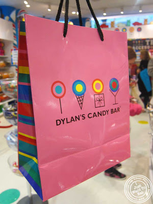 shopping bag at Dylan's Candy Bar in NYC, New York