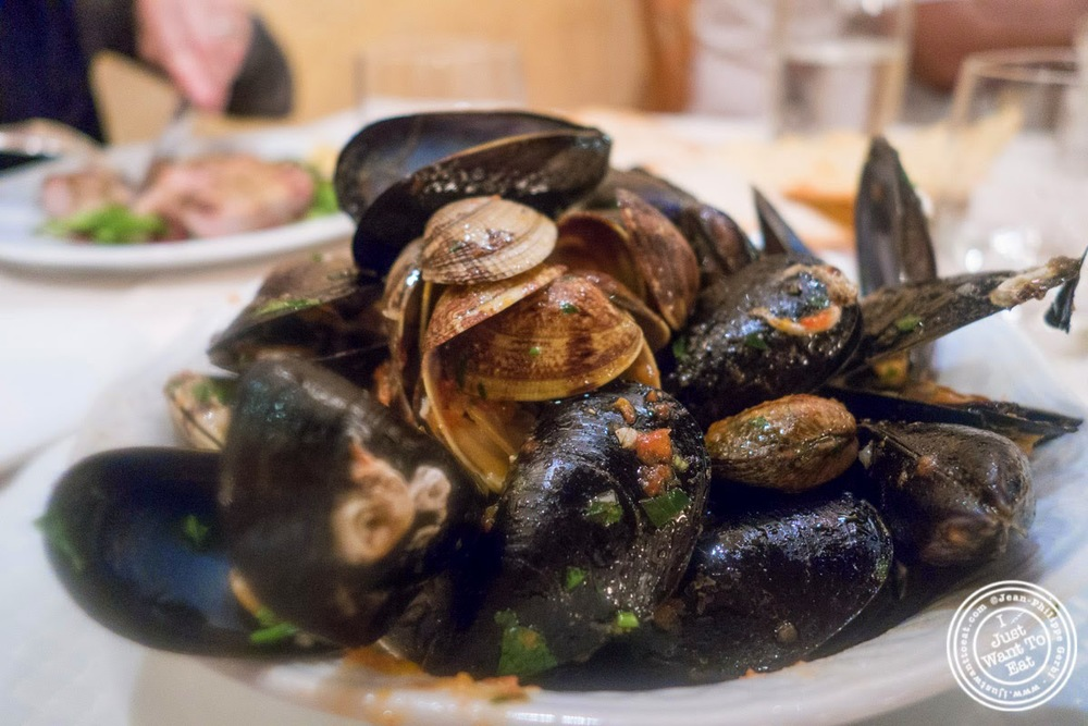image of Zuppeta cozze e Vongole at Il Caminetto in Florence, Italy