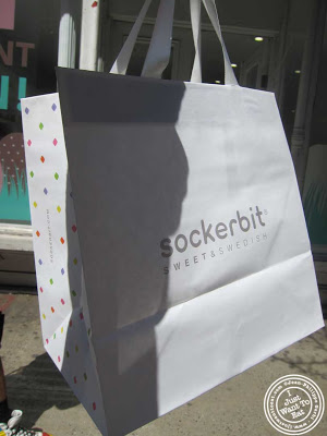 Image of bag from Sockerbit in NYC, New York