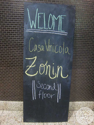 image of Zonin Wines and Aroma Kichen and Winebar in NYC, New York
