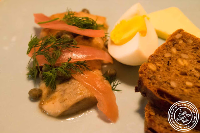 Image of Herring at Aamanns-Copenhagen in Tribeca, NYC, New York