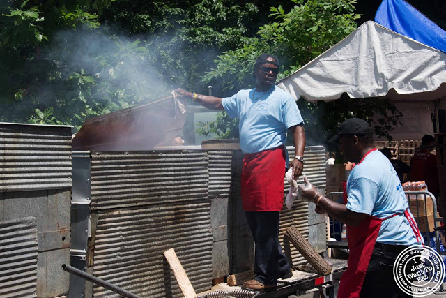 image of BBQ pit at 11th Annual Big Apple BBQ Block Party at Madison Square Park!