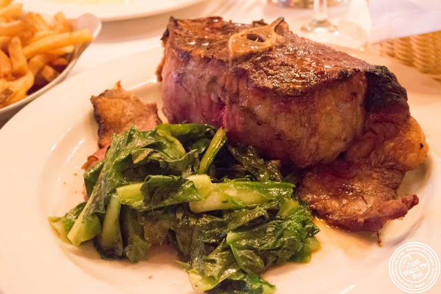image of mutton chops at Keens Steakhouse in NYC, New York